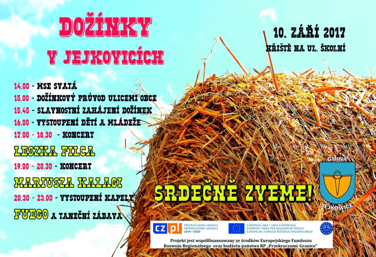 Dożynki plakat czeska wersja